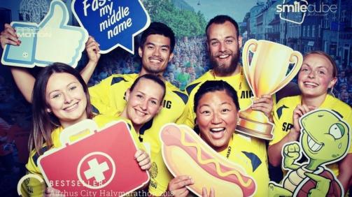 Frivilig til Aarhus City Halvmarathon